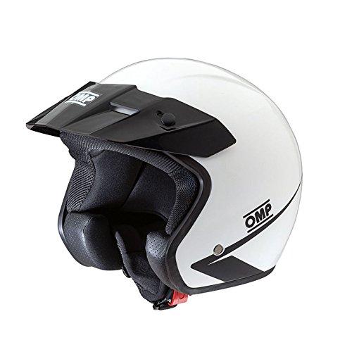 Omp OMPSC607E020M Helm Stern My2017 Weiß Größe M