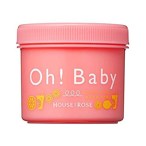 ハウスオブローゼ ボディスムーザー PL (ピンクグレープフルーツ&レモネードの香り) 350g / ボディスクラブ