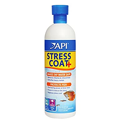 API Stress Coat Aquarium Water Conditioner, 473 ml Bottle by API
