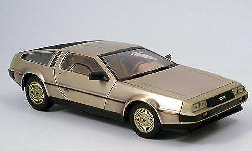 DeLorean DMC 12, Gold, 1981, Modellauto, Fertigmodell, Sun Star 1 18