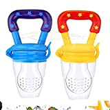 Ssanvi Baby Food & Fruit Nibbler Pacifier Feeder,   Soft Silicone Fruit Teether