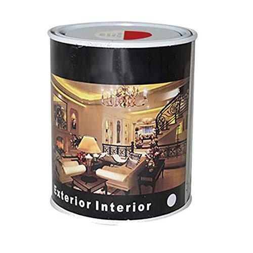 Pintura Esmalte al Disolvente para Madera y Metal, Pintura Alquidica de Rápido Secado para Superfícies Interiores y Exteriores(Rojo Ingles, 375 ML)
