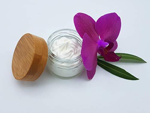 Deocreme Blütenfrische 30 ml Testergröße, ohne Aluminium und Konservierungsstoffe, plastikfrei, vegan, ohne Palmöl, wirksames Deo von kleine Auszeit Manufaktur