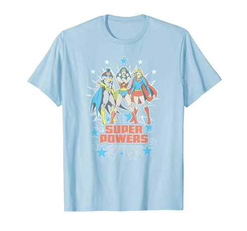 Justice League Super Powers x3 T-Shirt