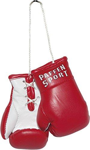Paffen Sport Colour Mini Boxhandschuhe – Anhänger fürs Auto – rot/weiß