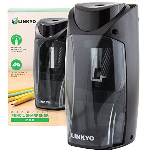 LINKYO-Electric-Pencil-Sharpener-Automatic
