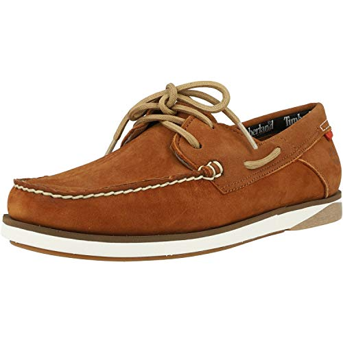 Timberland Atlantis Break Boat Shoe Braun (Rust) Nubuk 44 EU
