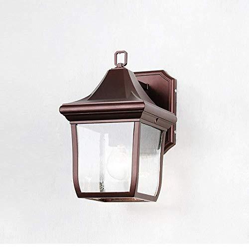 E27 Außenwand Laterne Lampe Nordic Mittelalterlichen Outdoor Wasserdichte Wandleuchte Edelstahl Aluminium Landschaft Zaun Garten Dekorative Wandleuchte Licht