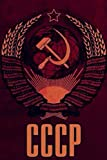 CCCP Sovietunion Notizbuch Wappen Flagge...
