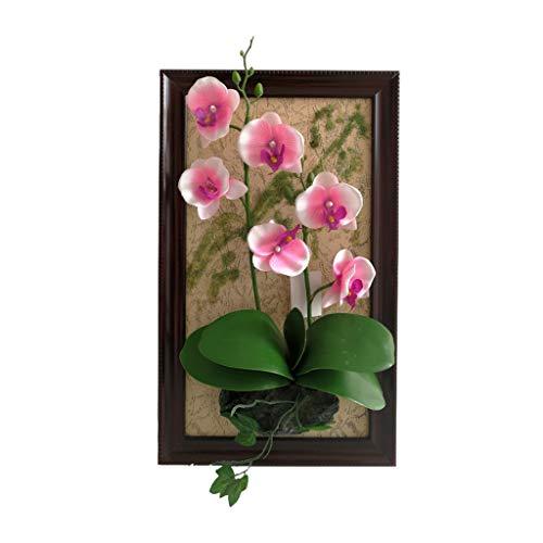 WXQIANG Anlage Photo Frame, Stereo-Foto-Rahmen-hängende Wand Pflanze, Innendekoration Wohnaccessoires (Color : #2)