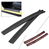 GZYF Fit Jeep Wrangler TJ 98-06 Door Entry Guards Sill Plate Protector Scuff Plate Panel, 2-Door