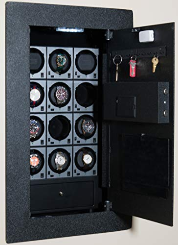 BlumSafe Watch Winder Wall Safe (9 Winders)