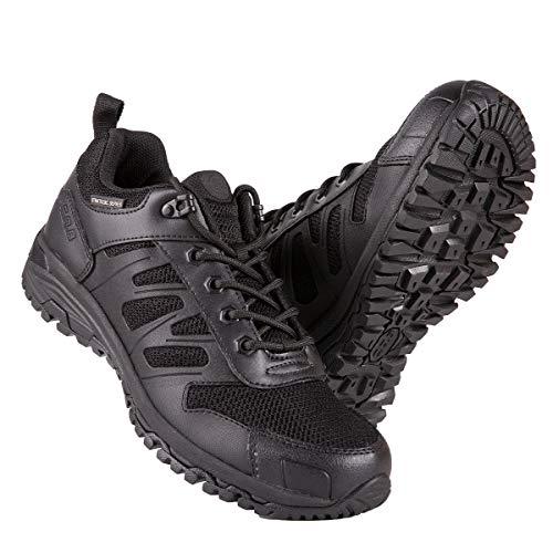 FREE SOLDIER Zapatillas Trekking Hombre Zapatillas Senderismo Tacticas al Aire Libre Zapatos Militares de Montañismo(Negro,43)