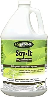 Soy-It Heavy Duty Degreaser Cleaner, Power Green Cleaner as a Concrete Degreaser, Pressure Washer Cleaner, Deck Cleaner, Brick Cleaner, Paver Cleaner, Grease Remover, Garage Floor Cleaner, 1 Gallon