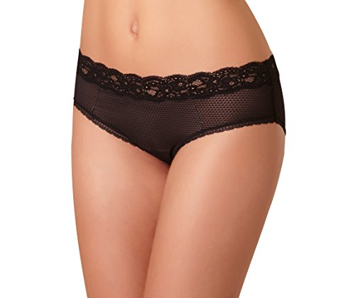 Passionata Damen Hipster Brooklyn-Shorty, Schwarz (Schwarz 11), 40