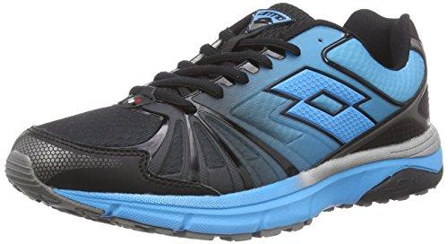 Lotto MOONRUN - Zapatillas de Running de Material sintético para Hombre, Color Multicolor, Talla 46