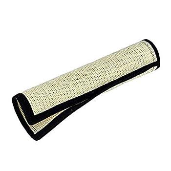 Yosoo Tapis Griffoir en sisal pour Chat Jouet Polyvalent Enroulable pour Protection de Poteau de Lit et de Table (40 * 30cm)