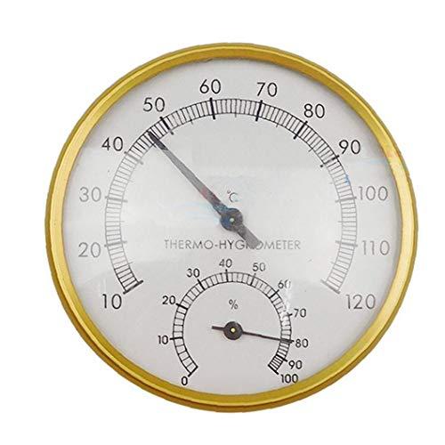 Nicetruc Outdoor Indoor Sauna Multifunktionale Zubehör Sauna Thermometer Induktive Pointer Startseite Innen Dial Feuchtigkeitsmesser Hygrometer