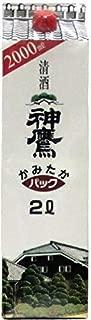 〔清酒・日本酒〕 神鷹 2Lパック 3本 (2000ml)(2リットル)江井ヶ嶋酒造