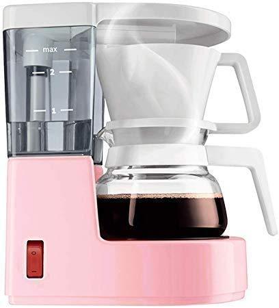 Máquina HYCQ café de filtro de goteo, 500W, diseño anti-goteo, filtro desmontable y placa caliente, la preservación del calor durante 40 minutos, 0,35 litros cafetera elaboración de la cerveza mano am