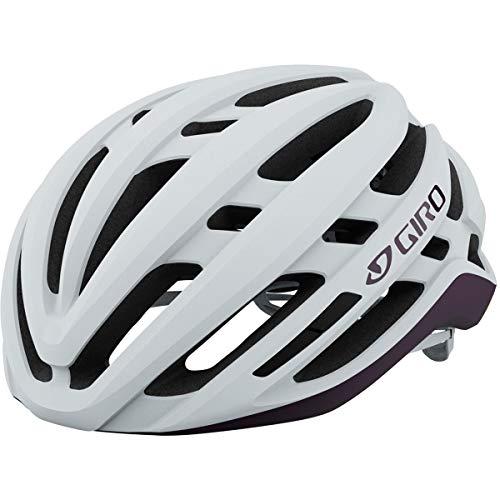 Giro Agilis MIPS W Womens Road Bike Helmet - Matte White/Urchin (2021) - Medium (55-59 cm)