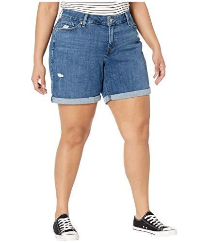 Levi's Women's Plus-Size New Shorts, hawaii Ocean, 42 (US 22)