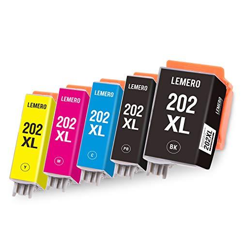 LEMERO Kompatibel Patronen für epson 202XL cartucce 202 XL 202XL druckerpatronen für Epson Expression Premium XP-6000 XP-6000 druckerpatronen XP-6005 Drucker