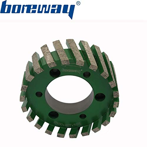 Best Prices! Xucus Boreway Supply A Piece Of D10040mm50H CNC Milling Wheel Sintering Standard Stubbi...