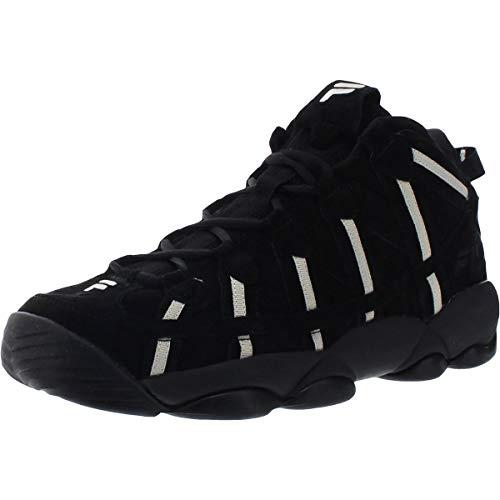 Fila Spaghetti Hightop Zapatillas de baloncesto para hombre, Negro (Negro/Fila Cream/Fila Cream), 43 EU
