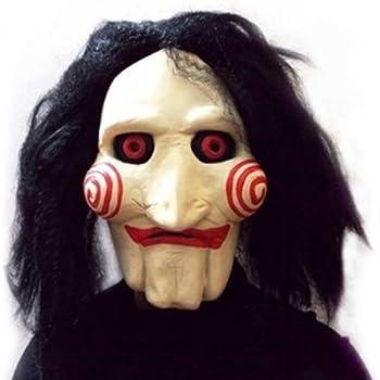 Máscara y peluca de Annabelle para adulto, complemento de disfraz ...