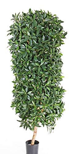 PARC Network - Lorbeersäule Kunstpflanze, 150cm - Kunst Lorbeer - Lorbeerbaum Künstlich - Lorbeer Künstlich - Lorbeer Deko - Künstlicher Lorbeerbaum