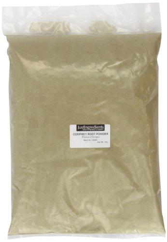 JustIngredients Beinwellwurzel Pulver, Comfrey Root Powder, 1er Pack (1 x 1 kg)