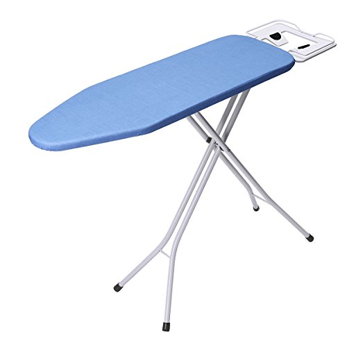 """king do way Ironing Board 39"""" L x 12''W x 33''H Opensize 4-Leg Table for Ironing Clothes Tabletop Ironing Board with Iron Rest Wide Top Iron Board Design"""