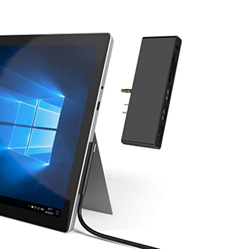 Surface Go Docking Station, Adattatore USB C HDMI per Surface Go, Cateck Hub Adattatore Dongle 6-in-1 USB C con 4K USB C a HDMI, 2 Porte USB 3.0, Jack da 3.5mm per Auricolari, Lettore Scheda SD/TF