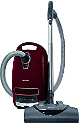 Miele Complete C3 Vacuum For High Pile Carpet, Tayberry Red