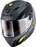 Shark Motorradhelm RACE-R PRO SAUER Mat AKY, Grau/Schwarz/Fluo, M