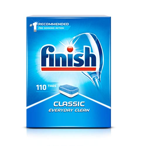 Finish Classic Dishwasher Tablets, Pack of 110 Tablets