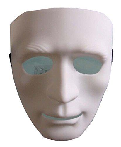 Masque Halloween Masquerade enfants Horreur Street Dance boules blanches