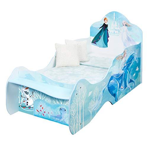Frozen Disney Cama Infantil con Estante y Almacenamiento