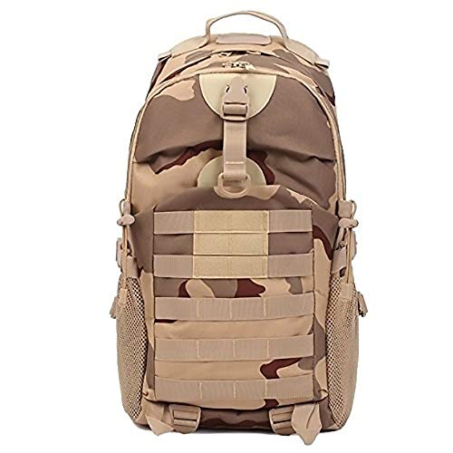 SWNN backpack Portable Outdoor Hiking Backpack Unisex Tactical Backpack Camping Holiday Brown