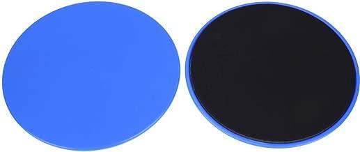 Zinniaya 2 Unidades//Juego de Deslizadores centrales Discos deslizantes de Doble Cara Se Usan en Pisos de Alfombra o de Madera Dura para Entrenamientos de Entrenamiento en el hogar