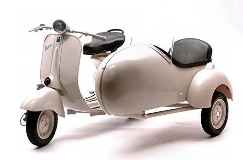 VESPA PIAGGIO 150 WITH SIDECAR 1:6 - Moto - New Ray - Die Cast - Modellino