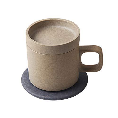 Erjialiu Smart draadloze oplader elektrische verwarming koffie Cup 55-graden intelligente isolatie mok