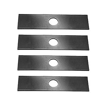 4 Pack Heat Hardened  longer life  Edger Blades Replace Ryobi 613223 Echo 720-237-001 Stihl 4133-713-4101 Maruyama 216062 Green Machine 237001