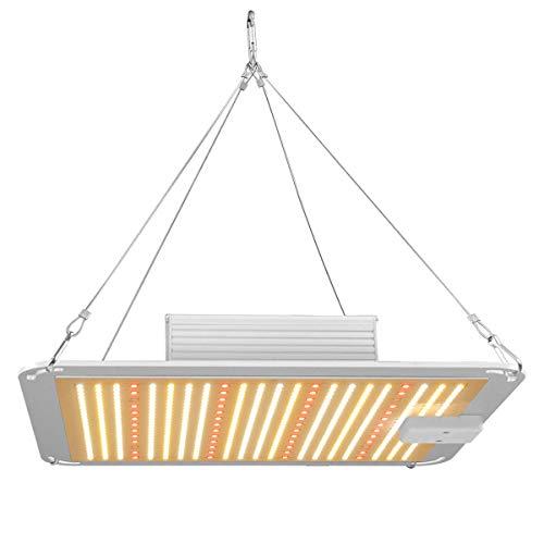 HYDL Lámpara de Cultivo de Plantas, LED Grow Light, Luces de Cultivo LED para Plantas, Lámpara de Crecimiento para Interiores, para Jardinería Bonsai,200W