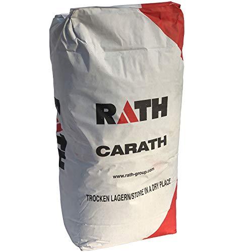 Hormigón ignífugo Carath 37 D 0 – 3 mm, 25 kg, hormigón ignífugo, moldeo de hormigón, para horno, chimenea, hormigón