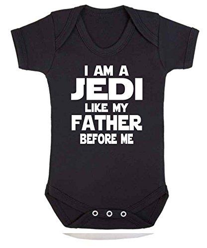 I am Jedi Like My Father Star Wars - Chaleco para bebé (3 a 6 meses), diseño de Jedi