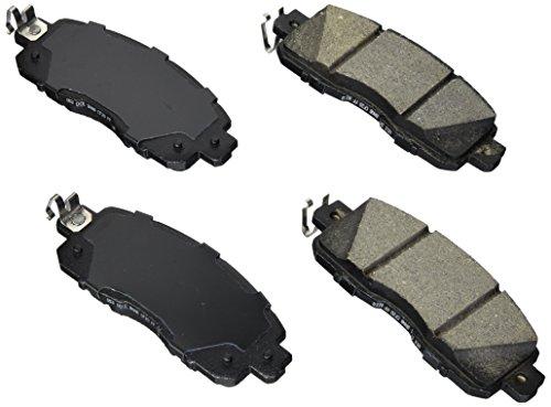 Bosch BE1650 Blue Disc Brake Pad Set for Nissan: 2013-15 Altima, 2011-15 Leaf - FRONT