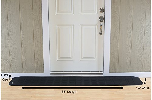 EZEdge Transition Threshold Ramp For a Door Sill, 1¼