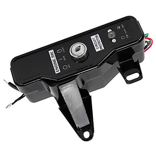 Caja de interruptor de llave de encendido, caja de interruptor de control de arranque resistente al desgaste para bombas de agua para uso profesional para uso general para fábrica para